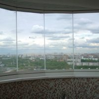 Французские стеклопакеты: свет от пола до потолка
